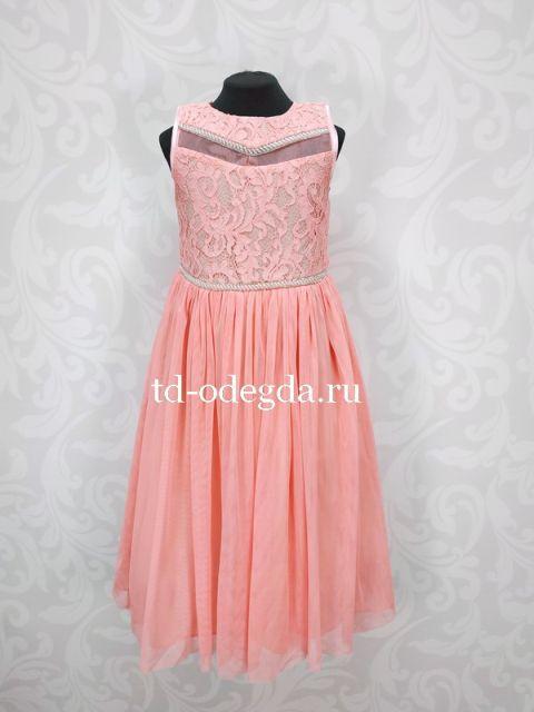Платье 7895 розовый