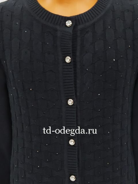 Джемпер 3813 черный