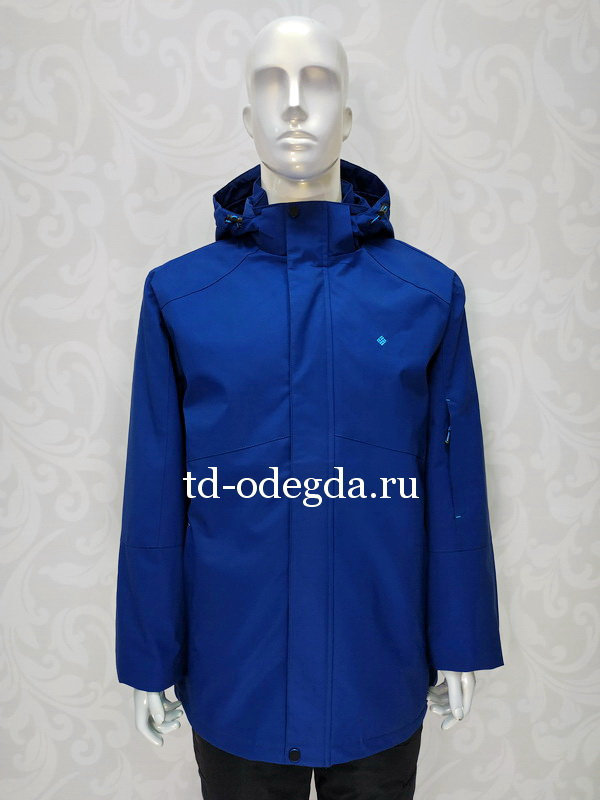 Куртка 8869 синий
